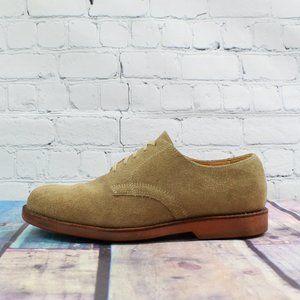 LL Bean Oxford Suede Nubuck Dress Shoe Size 11